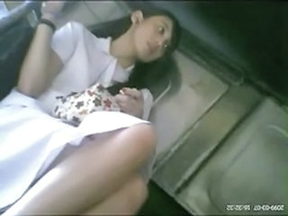 Amateur Asian Student Upskirt