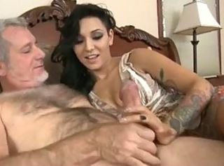 Lovely Brunette Teen Fucked By Old man,By Blondelover