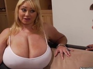 This chubby mom gets fucked hard by a young cock