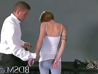 Bdsm Xxx Teen Be in session Girls Simple Face Drips With Masters Hot