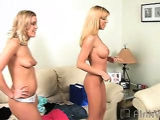 19 Year Old Mandy Came Over To Help Lexi Try On Some New