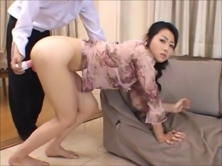 Asian Japanese  Mom Old and Young Toy