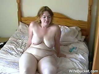 Amateur BBW Homemade Natural SaggyTits Wife