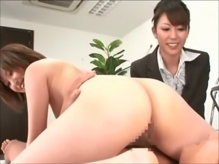 Asian Ass Japanese  Office Secretary Threesome
