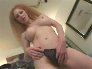 Ugly terrible redhead mom with uncompromisingly very hairy cunt!