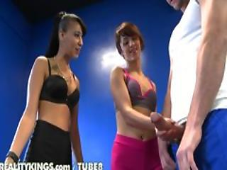 Handjob Teen Threesome