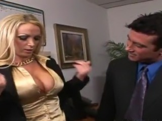 Nikki Benz has Her pussy eaten And made love inside An Office