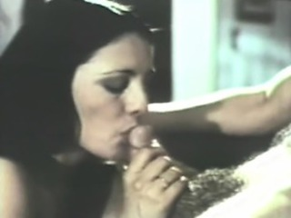 Blowjob  Small cock Vintage Wife
