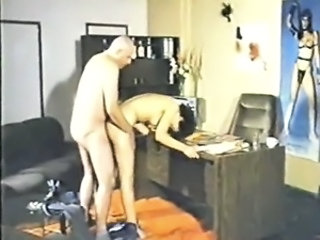 Amateur Doggystyle Office Vintage