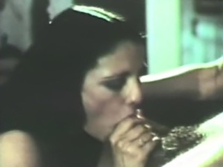 unbelievably hot retro blowjob