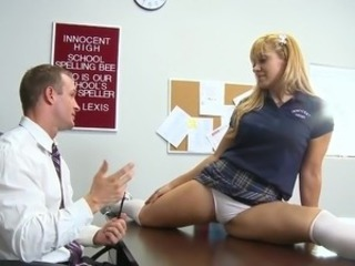 Old and Young Panty School Student Teacher Teen