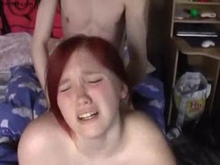 Banging My Busty 19 Year Old Redhead Girlfriend Sex Tubes