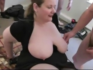 Big Tits Gangbang  Natural Nipples