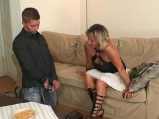 Sexy mother inside law enjoys meat stick fucking