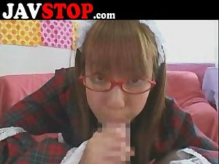 Asian Blowjob Glasses Japanese Teen