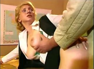 Clothed Doggystyle Glasses  Mom School Teacher