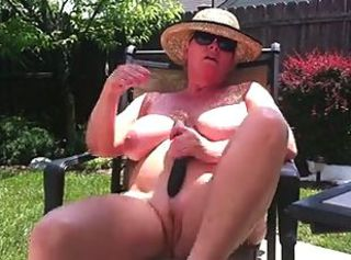 Amateur  Masturbating  Mom Nudist Outdoor