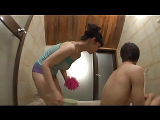 Asian Bathroom Japanese  Wife