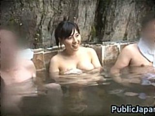 Asian Babe Japanese Outdoor Pool Voyeur