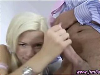 Daddy Handjob Old and Young Teen