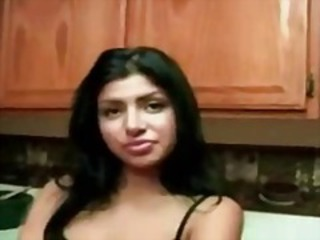 Amateur Homemade Indian Kitchen Teen