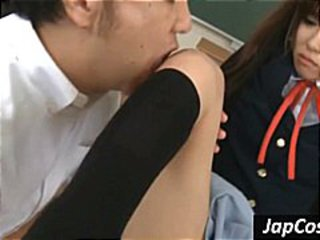 Asian Old and Young School Student Teacher Teen Uniform