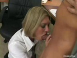 Adriana Amante fucked at office