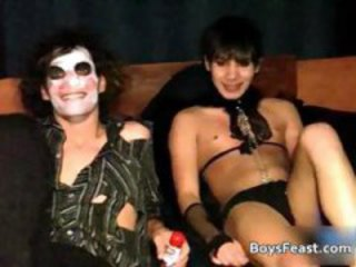 Gay Costume Party Hook Up 1 by BoysFeast part6