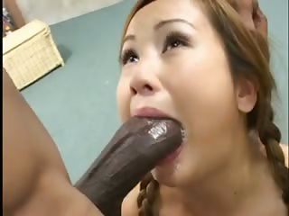 Asian  Blowjob Deepthroat Hardcore Interracial Teen