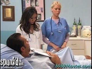 Asian Doctor Interracial Nurse Pornstar Threesome Uniform