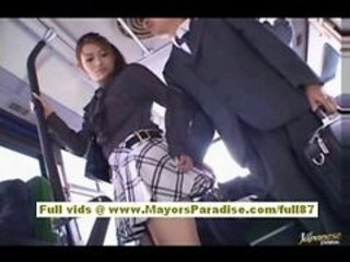 Asian Bus Public Skirt Student Teen Uniform