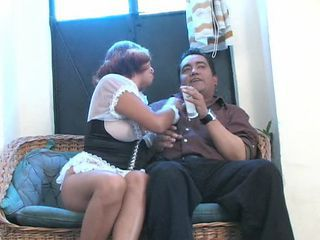 Amateur Chubby Latina Mature Older  Wife