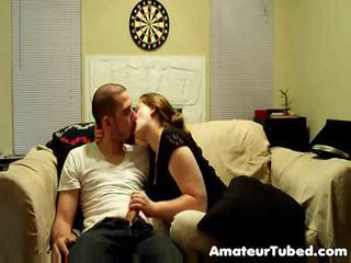 Amateur Girlfriend Handjob Homemade