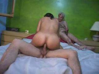 Amateur Daddy Gangbang Old and Young