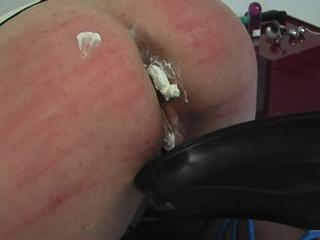 "Whipped cream enema and anal dildo fuck"" class=""th-mov"