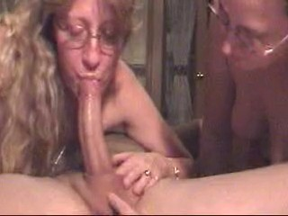 Double Deepthroat For Lucky Guy By...