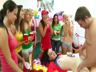 College students playing erotic games