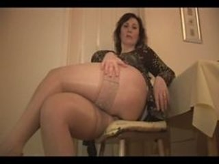 Chubby Mature Mom Stockings