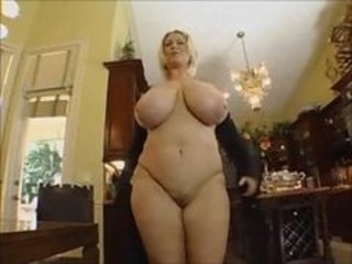 Horny Bbw Blonde Gets Nailed By A...