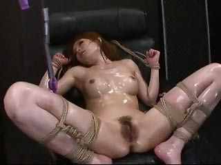 Asian Bondage Oiled