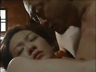 Asian Cute Daddy Daughter Japanese Old and Young