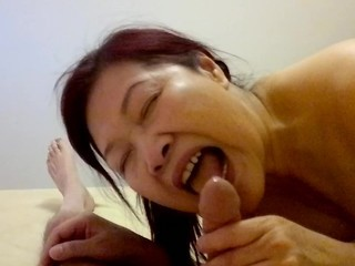 Amateur Asian Blowjob Chinese Mature Small cock