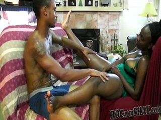 NATURAL BLACK AMATEUR HAVING FUN !!