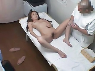 Young Girl Strips Down For A Hot Personal Ass And Pussy Massage