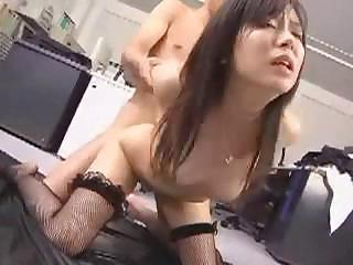 Asian Doggystyle Hardcore Japanese  Secretary Stockings