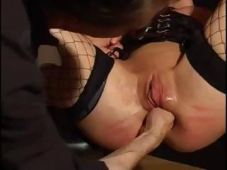 Young Blonde Bottled And Fisted