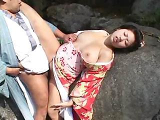 Asian Babe Chinese Clothed Natural Outdoor