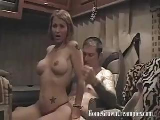 Super Momma's Anal Creampie - Amateur Sex Video