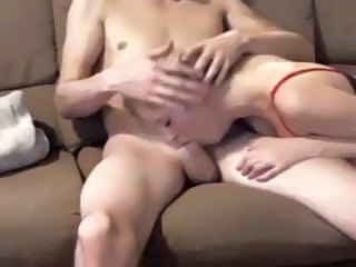 Horny Young Amateur Couple Set Up The Webcam And Make A Sex Tape For Fun