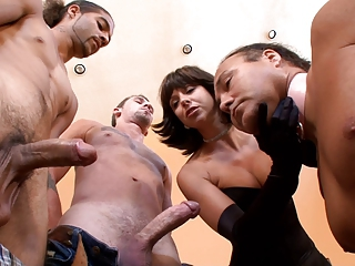 Cuckold Forced Bi At Hands Of Brutal Mistress